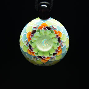 Juju Glass Summers Moon Dot Stack Glass Pendant