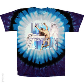 Led Zeppelin Swan Song Tie Dye T-Shirt