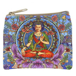Lotus Buddha Coin Purse