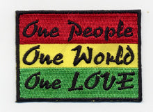 One People One World One Love Patch