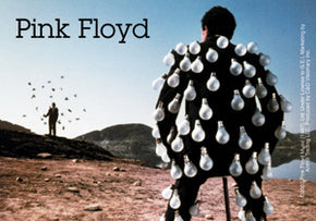 Pink Floyd Bulb Man Sticker