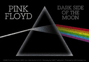 Pink Floyd Dark Side of the Moon Glitter Sticker