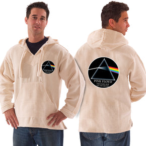 Pink Floyd Dark Side of the Moon Natural Baja Pullover