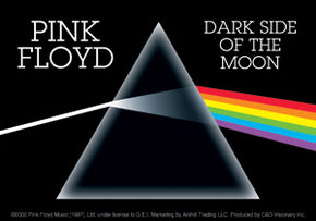 Pink Floyd Dark Side of the Moon Sticker