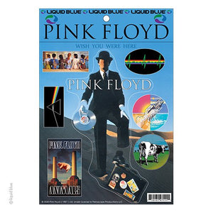 Pink Floyd Invisible Man Sticker Set