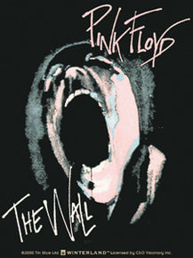 Pink Floyd The Wall Scream Sticker