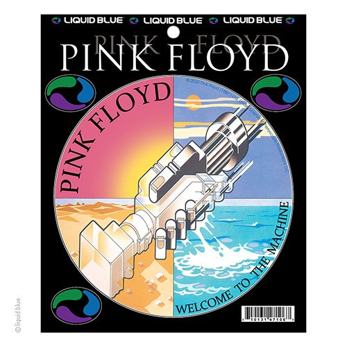 Pink Floyd Welcome to the Machine Sticker
