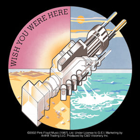 Pink Floyd Wish You Were Here Gear Hands Sticker