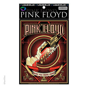 Pink Floyd Wish You Were Here Poster Sticker