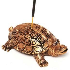 Resin Turtle Incense Burner