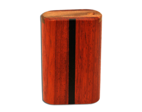 Slide Top Vermillion Inlay Dugout - Small