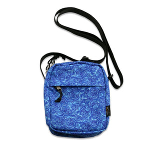 Stanley Mouse Allover Blue Rose Utility Bag by Grassroots California