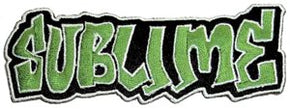 Sublime Grafitti Logo Patch