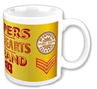 The Beatles Sgt Peppers Lonely Hearts Club Band Coffee Mug