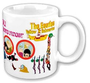 The Beatles Yellow Submarine Portholes Coffee Mug