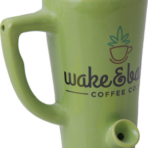 Wake N Bake Ceramic Pipe Mug