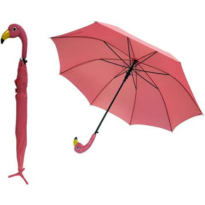 Wildly Stylish Standing Flamingo Umbrella
