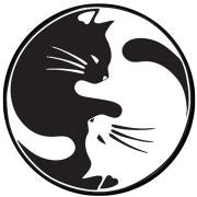 Yin Yang Cats Patch