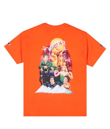 For The Homies X Champion Scarface T-Shirt - Orange