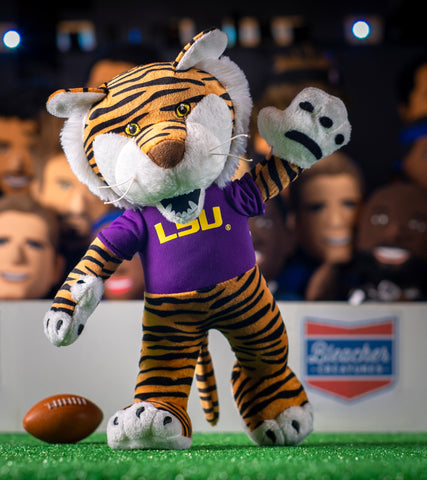 Bleacher Creatures LSU Mike The Tiger 10 Plush Figure A Mascot for Play or Display