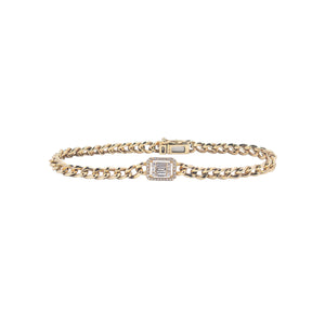 Goldstein Collection Curb Link Bracelet