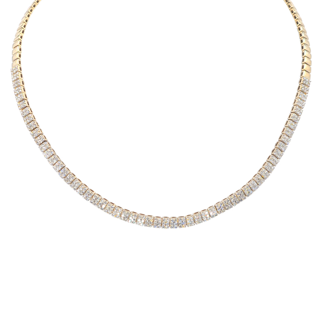 Goldstein Collection Pave Tennis Choker