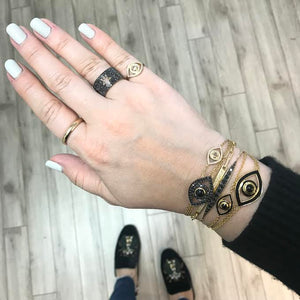 Netali Nissim Mini Eye Bracelet