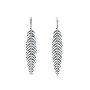 Goldstein Collection Feather Earrings