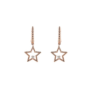 Goldstein Collection Star Dangle Earrings