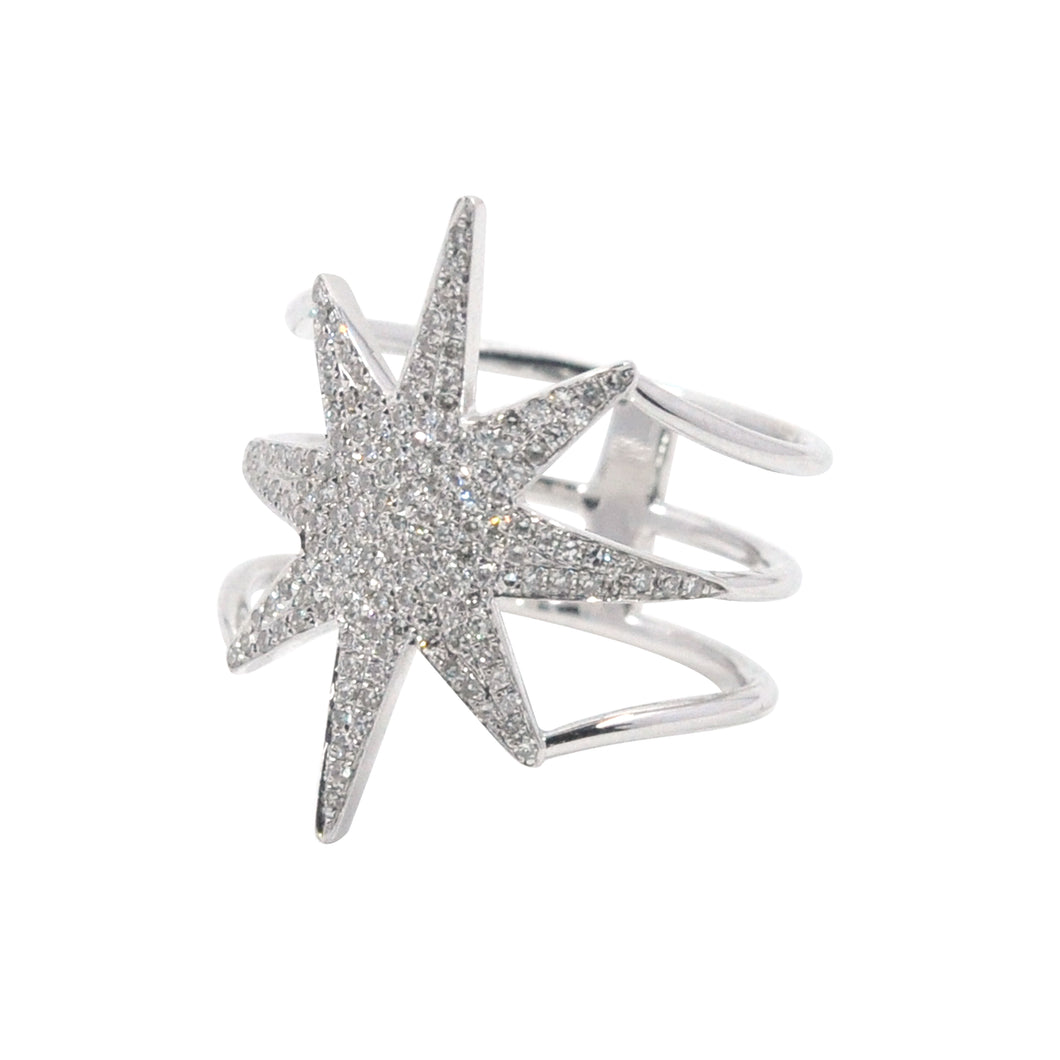 Goldstein Collection Starburst Ring