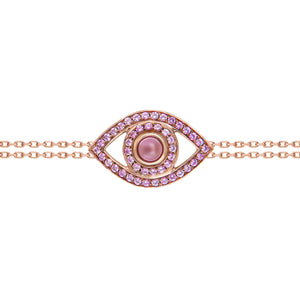Pink Sapphire Protected Bracelet