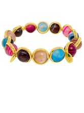 Load image into Gallery viewer, Brett Lauren Fiesta Agate Bracelet