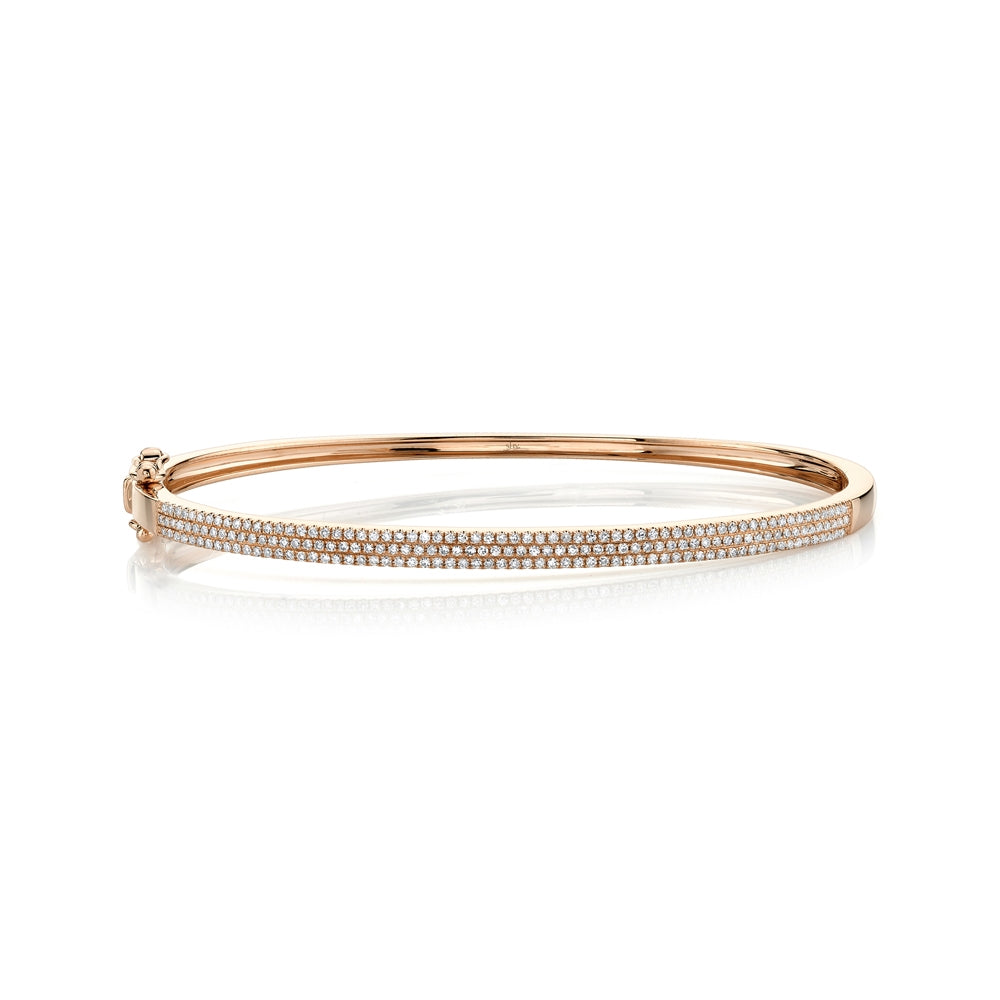 Goldstein Collection 3-Row Bangle