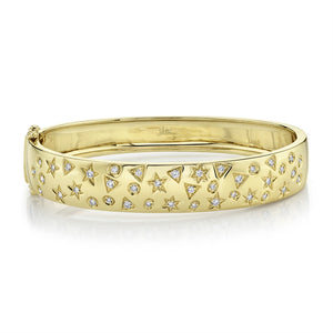 Goldstein Collection Celestial Hinged Cuff