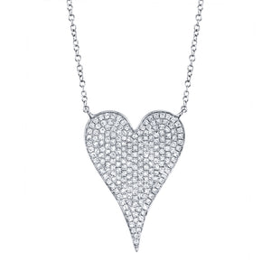 Goldstein Collection Large Heart Pendant