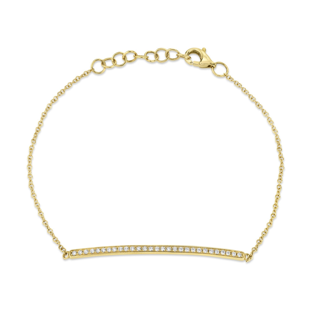 Petite Collection Skinny Bar Bracelet