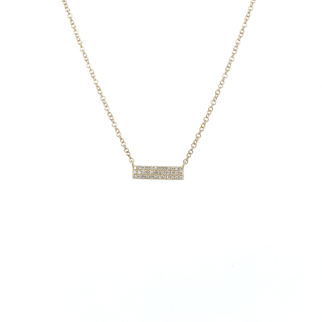 Petite Collection Tiny Bar Necklace