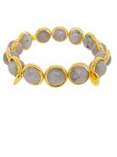 Load image into Gallery viewer, Brett Lauren Labradorite Bracelet