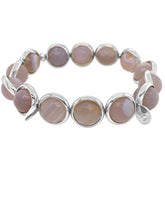 Load image into Gallery viewer, Brett Lauren Smoke Grey Agate Bracelet