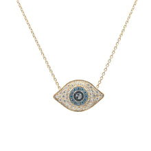 Load image into Gallery viewer, Goldstein Collection Evil Eye Pendant