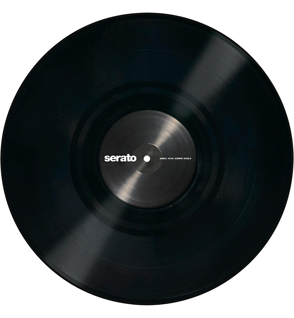 Serato Performance Control Vinyl Black 12