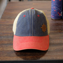 Load image into Gallery viewer, 42 North Ball Cap - Blue/Red