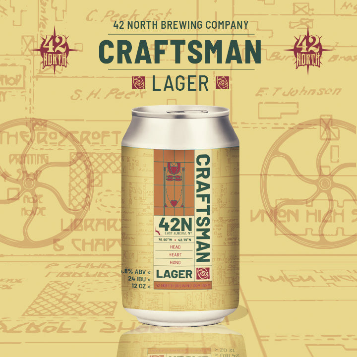 Craftsman Lager - For Saturday Pick-Up At Brewery