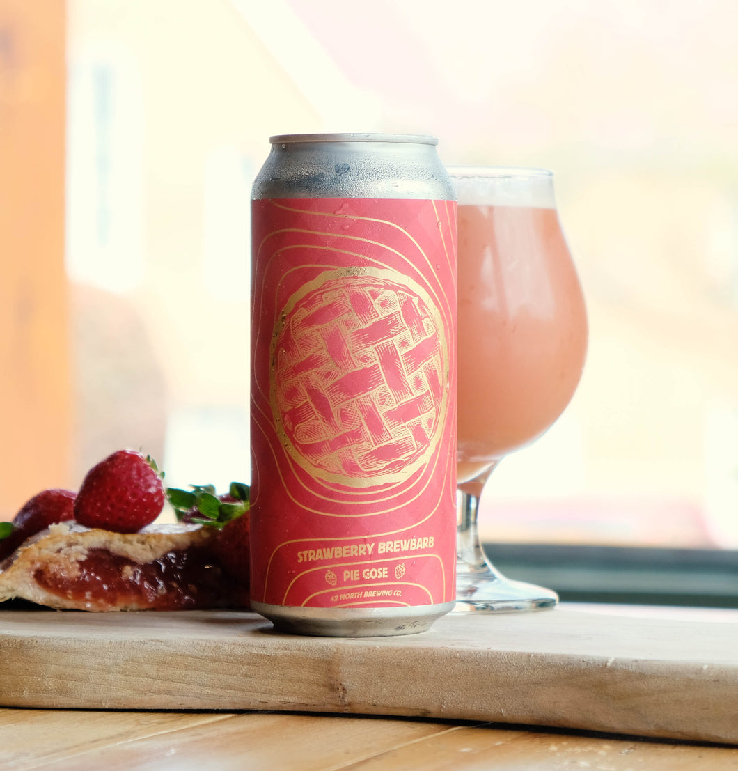 Strawberry Brewbarb Pie Gose - For Pre-Order For Friday Pick-Up At Brewery