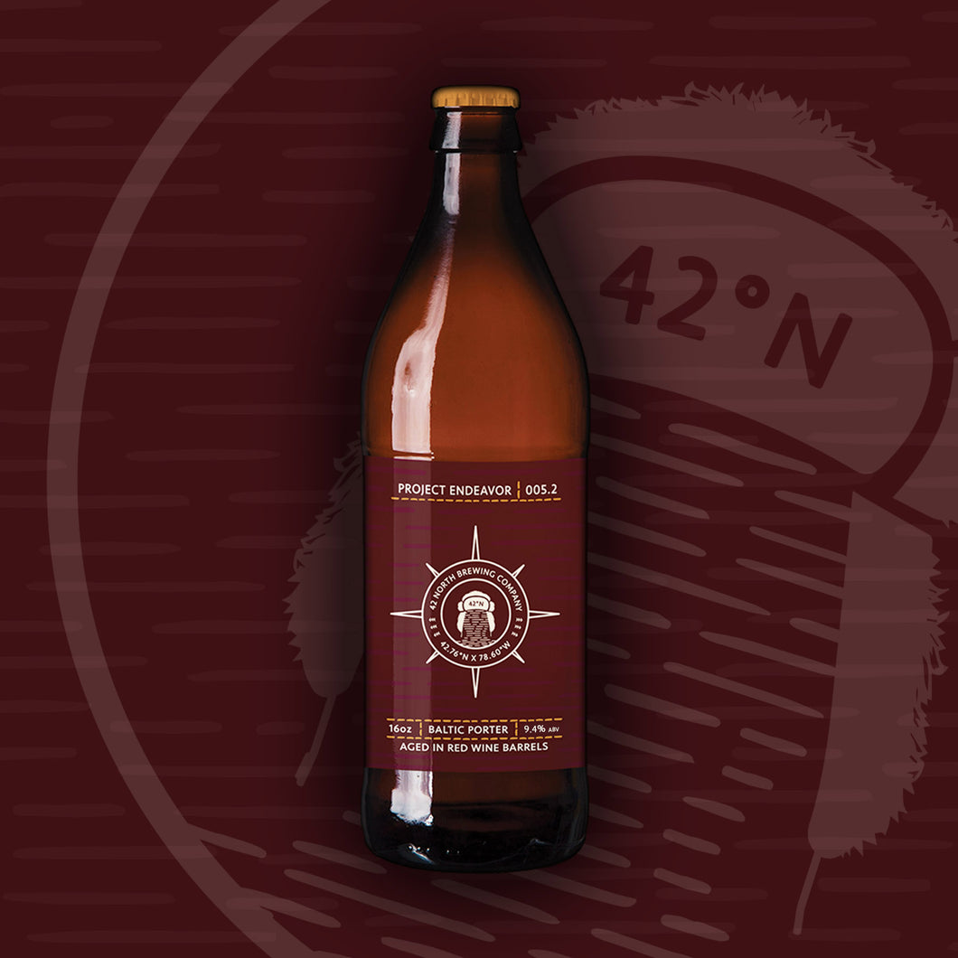 Project Endeavor 005.2 - Red Wine Barrel-Aged Baltic Porter