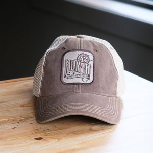 42 North Trucker Hat - Brown
