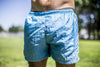 High On Life Blue Swim Shorts
