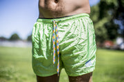 High On Life Green Swim Shorts