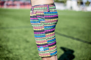 High On Life Pattern Shorts Rainbow