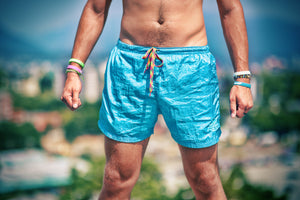 High On Life Shorts Blue